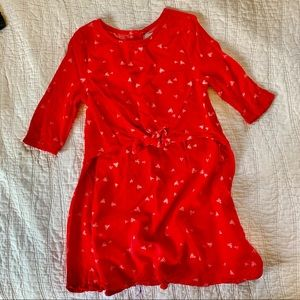 Old Navy Red Toddler Flowy Dress